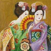 絵画展 口と足で表現する世界の芸術家たち(福井)