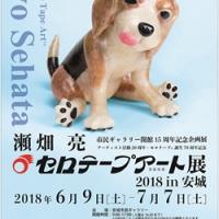 瀬畑 亮 セロテープアート展 2018 in 安城